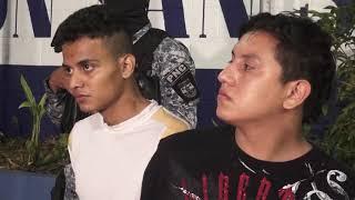 Escenas | Presentación de más de 20 detenidos por parte de Delegación San Salvador