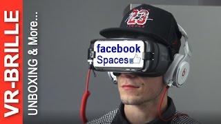 VR Brille Samsung Gear Oculus: Video, facebook Spaces & Apps