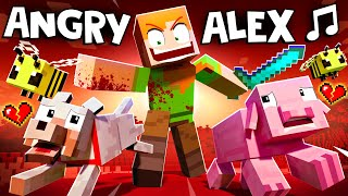 """""""ANGRY ALEX"""" 🎵 [VERSION A] Minecraft Animation Music Video"""