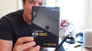 Wir basteln uns eine 8TB-SSD fürs iPad! Die Samsung QVO 870 SSD ausgepackt und umfunktioniert | 4K