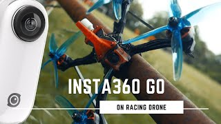 Insta360 go FPV racing - 2020 outdoor race training #2 фото