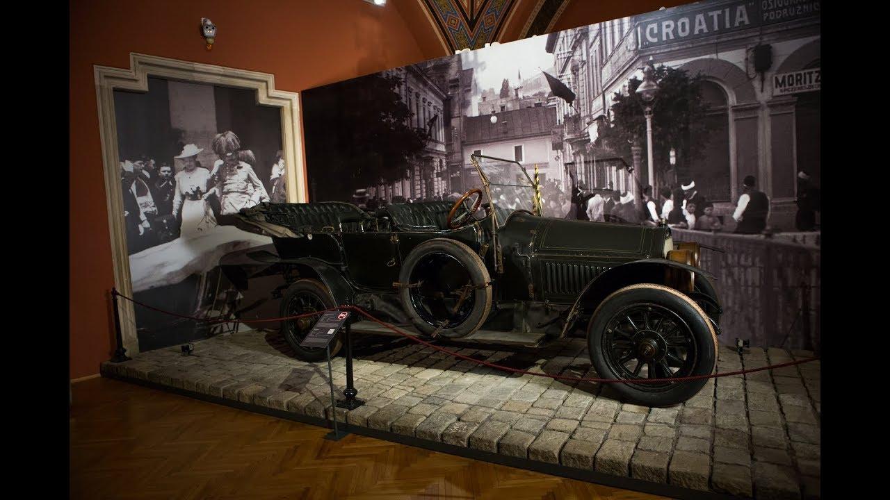 """Das """"Sarajevo Auto"""" und das Attentat auf den Thronfolger am 28. Juni 1914"""
