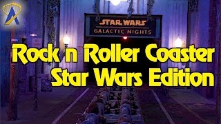 Rock 'n' Roller Coaster: Star Wars Edition POV at Star Wars Galactic Nights