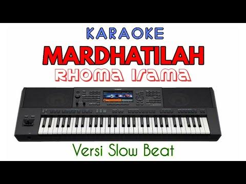 MARDHATILLAH Rhoma Irama - KARAOKE versi POP