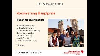 SALES AWARD 2019: Nominierte Verlage - Videointerviews