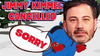 JIMMY KIMMEL CANCELLED By The Cancel Culture Mob he Created (IRONIC.. and AWESOME)