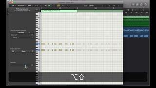 把 MIDI 音符力度調成一樣 Quantize MIDI Note Velocity