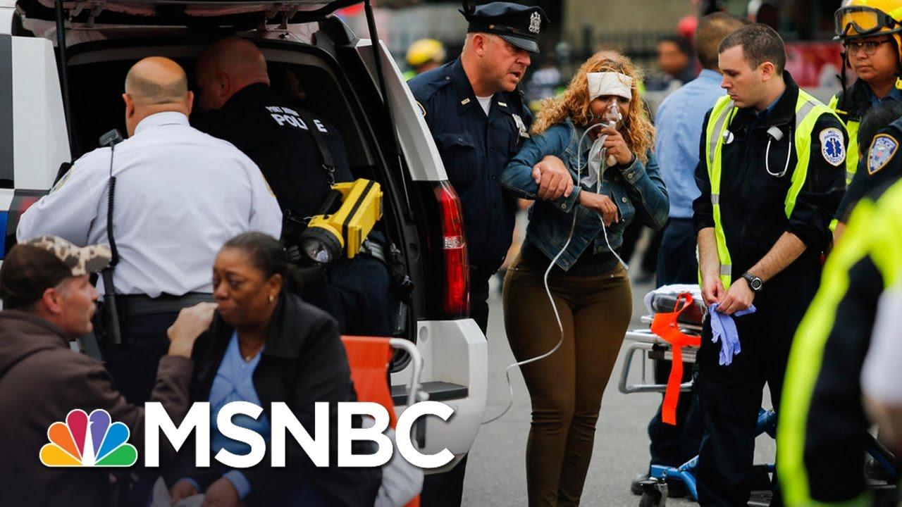 Governor Chris Christie Gives Update On NJ Train Crash | MSNBC thumbnail