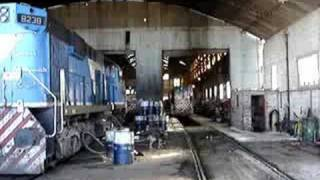 preview picture of video 'Visita Talleres Ferroviarios San Antonio Oeste I'