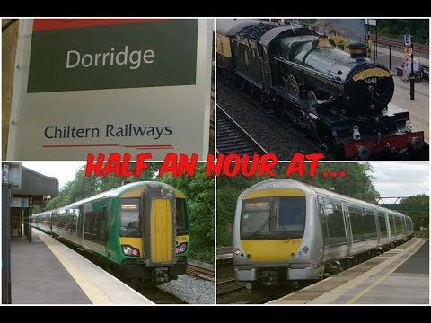 Half an hour at Dorridge Station featuring GWR 5043 'Earl of…