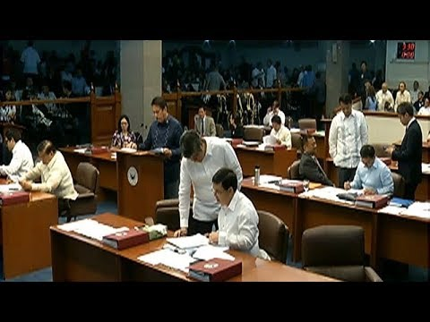 Tax reform bill, lusot na sa Senate Committee