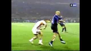 Veron vs. Totti [Juan Sebastian Veron]