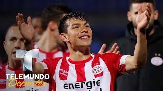 La Ovación De La Afición Del PSV Para Lozano | Eredivise | Telemundo Deportes