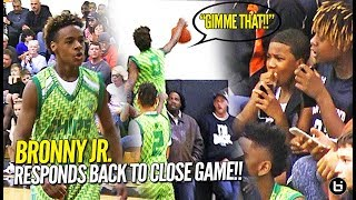 LeBron James Jr. CHASEDOWN BLOCK!! North Coast Blue Chips Get TESTED in Debut at Dru Joyce Classic!!