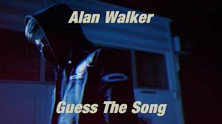 Alan Walker Guess The Song