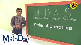 Grade 6 Math | Order of Operations | Mathdali