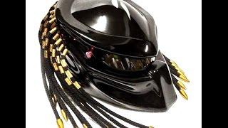 Review Predator Motorcycle custom handmade Helmet