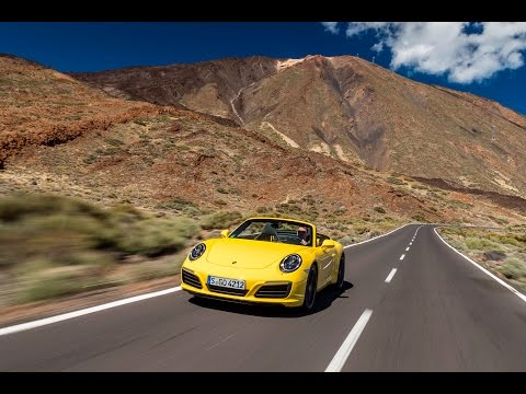 2016 Porsche Carrera S (991.2) HILLCLIMB in Tenerife