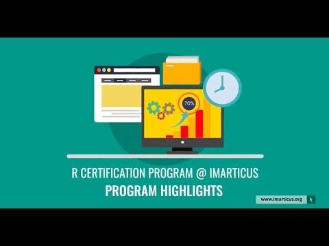 Certification in R Programming | R Programming Training Highlights ...