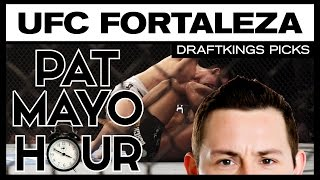 DFS MMA: UFC Fortaleza DraftKings Picks & Preview
