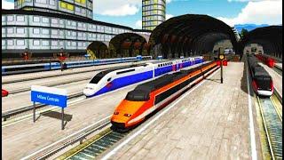 Euro Train Simulator Android Gameplay HD