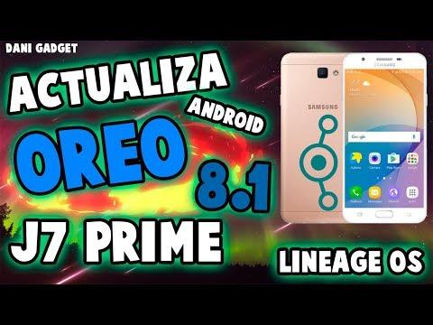 ROM OREO 8 1 PARA SAMSUNG J7 2016 LINEAGE OS 15 1 - смотреть онлайн