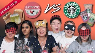 Eatbook VS Popular Starbucks Drinks | Eatbook Vlogs | EP 95