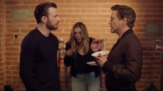 CIVIL WAR - Chris Evans vs Robert Downey Jr (The Last Doughnut)