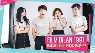 Ngobrol seru bareng Iqbaal, Vanesha, Yuriko, dan Debo   Film Dilan 1991