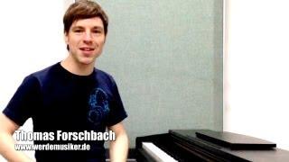 Klavier spielen lernen in 10 min! - So geht