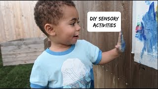 DIY Sensory Activities For Kids