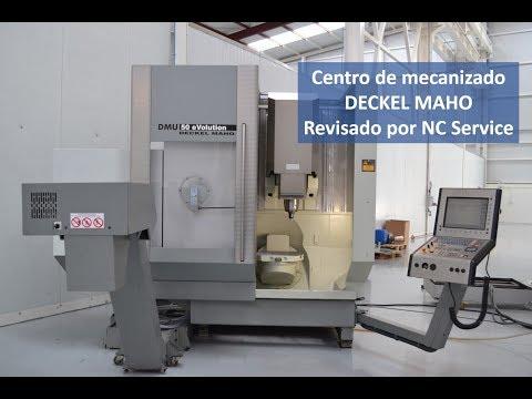 Centro de mecanizado Deckel Maho revisado por NC Service
