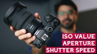 Aperture, Shutter Speed & ISO Settings to Master MANUAL MODE - हिंदी