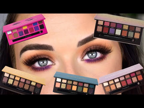 I used 5 ABH Palettes for 1 look... | Random Numbers Pick My Eyeshadow Challenge