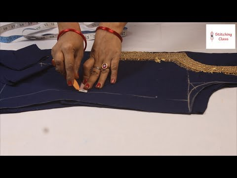 Suit/Kameez Cutting Very Easy Method Step By Step In Hindi, Kurti ki cutting, dress cutting