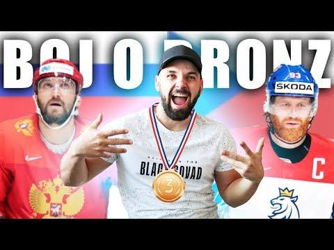 RUSKO - ČESKO   ZÁPAS O BRONZ na MS v hokeji 2019