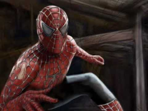 Speed Painting: Spider Man e John Locke (Lost)