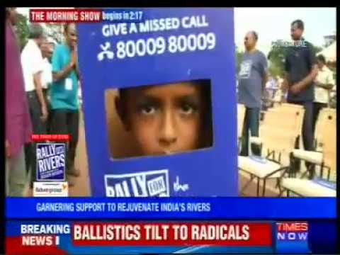 Times Now - Rally for Rivers - 16/09/17