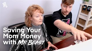 Saving Your Mom Money with @MrBeast | Shop with Honey