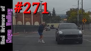 Bad Drivers Dashcam Compilation #271 - Worst Fails in Napa Valley