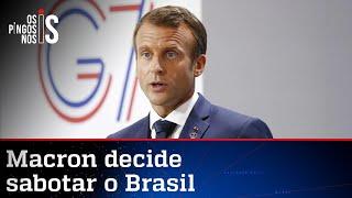 Os Pingos nos Is: O novo plano de Macron contra o Brasil