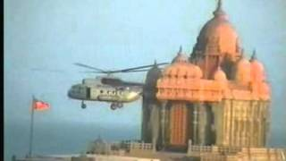 Tsunami Helicopter Rescue Shots.Kanniyakumari
