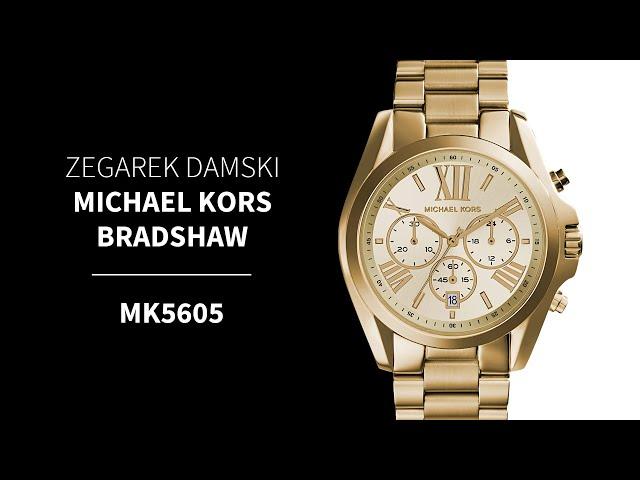 8166ba6e57241 Zegarek Damski Michael Kors Bradshaw MK5605 • Zegarownia.pl