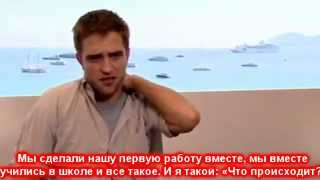 Космополис, Robert Pattinson - интервью для Showbiz411 (русские субтитры)