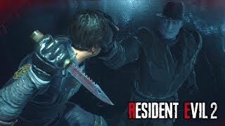 Resident Evil 2 Remake - All Mr. X Tyrant Boss Battles Compilation (Claire & Leon's Story)