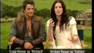 Легенда об искателе, Interview de Richard et Kahlan part 2