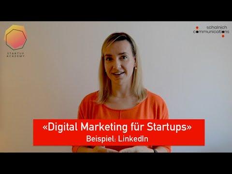 Digital Marketing für Startups - Linkedin