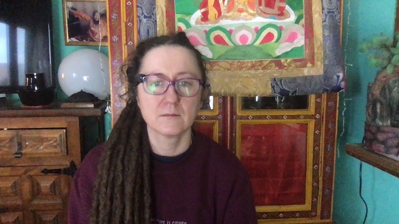 Lama Gangchen Tantric Self-Healing 2- Commentary by Lama Caroline - part 59 (EN) Colours