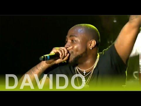 #OneAfricaMusicFest; Wizkid/Davido's gang clash, Wizkid allegedly punches one of Davido's team member (Video)