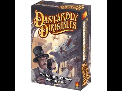 How to Play Dastardly Dirigibles by Fireside Games